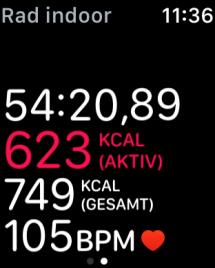 Watch 2 - workout