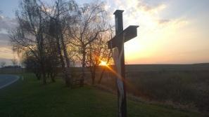 Kreuz Sonnenuntergang