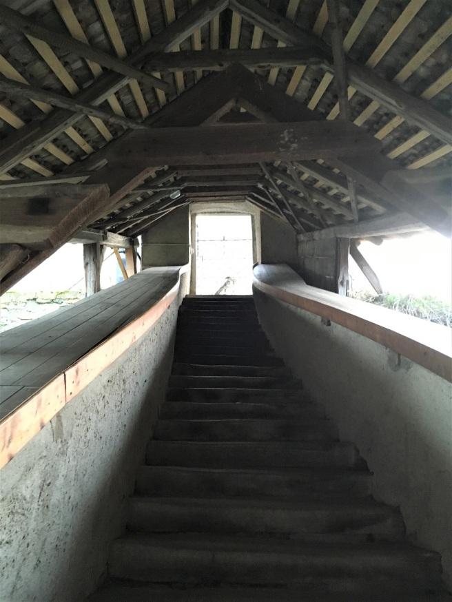 Hardegg Treppe Friedhof