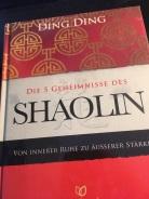 Buch Shaolin vorne