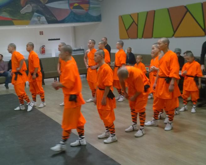 Shaolin Mönche 1