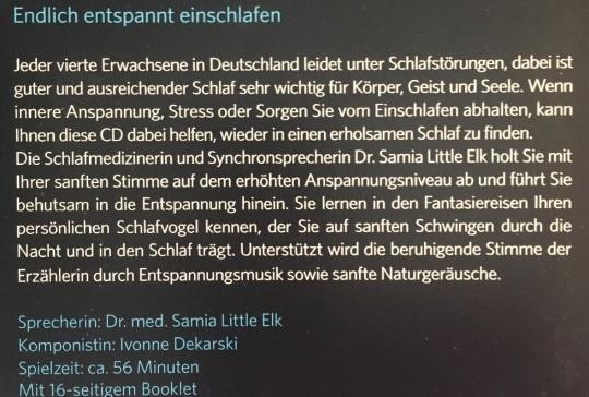 CD Auf sanften Schwingen back