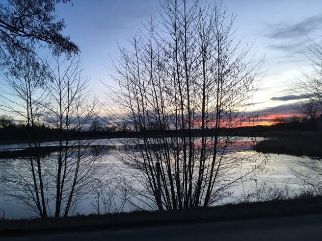 Riegersburg März 2018 Sonnenuntergang