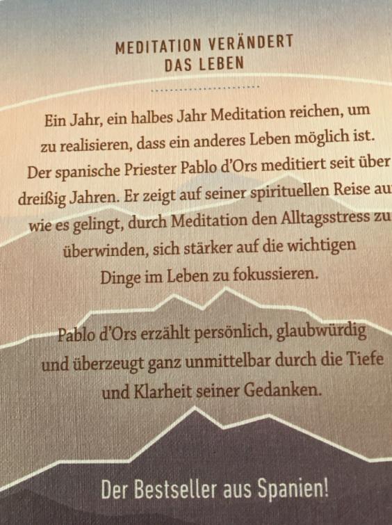 Buch Biographie der Stille back