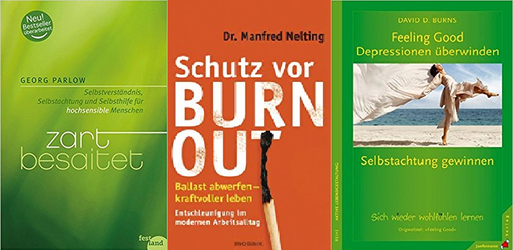Buch zart besaitet burnout feeling good
