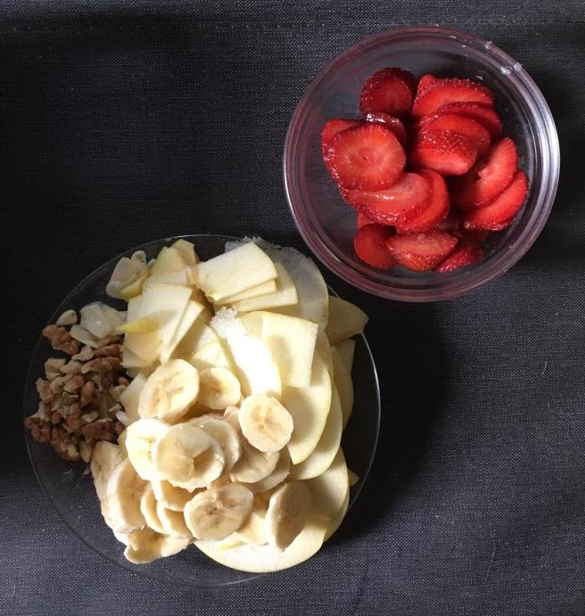 Xund Obst Nüsse