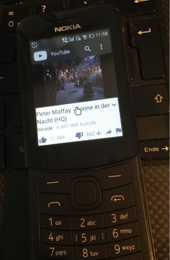 Nokia 8110 4G youtube