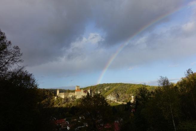 Burg Hardegg rainbow 2