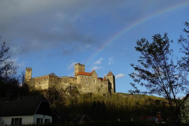 Burg Hardegg rainbow 5