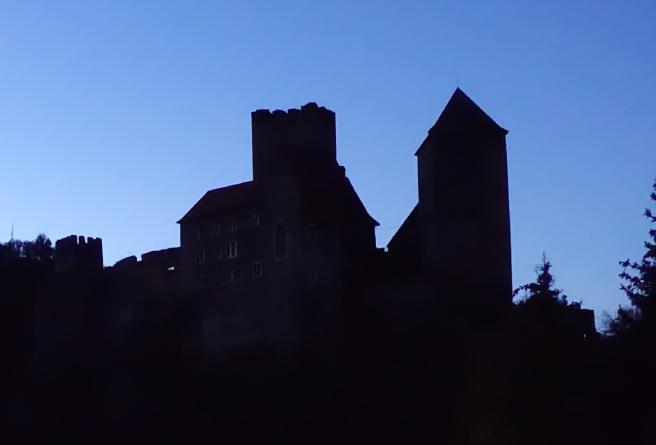 Burg Hardegg Silh