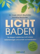 Buch Licht baden Front