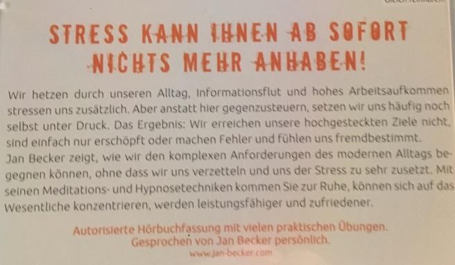 CD Jan Becker Rückseite