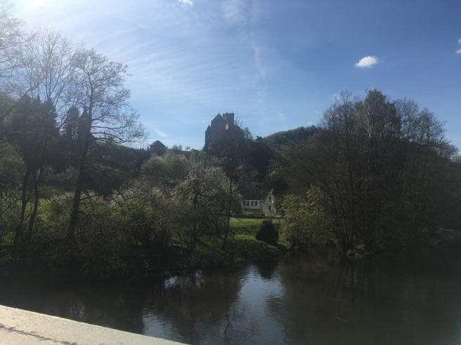 Burg Hardegg von Brücke